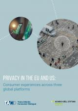 Privacy in the EU and US: Consumer experiences across three global platforms